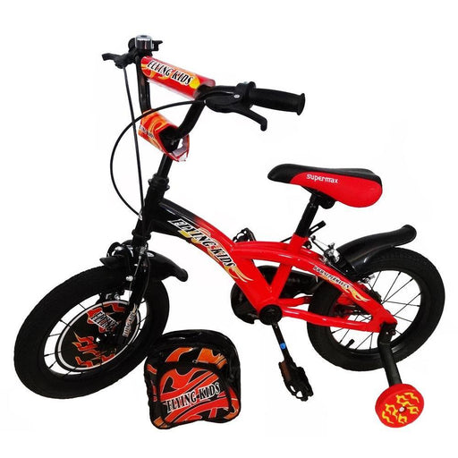 Supermax Flying Kids 12 inch BMX Bike - Red - Aussie Baby