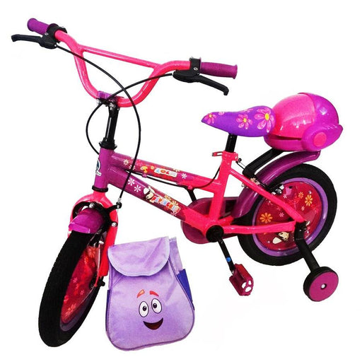 Supermax Lola 14 inch Bike - Purple - Aussie Baby