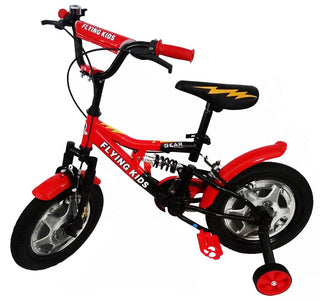Super Max 14 inch Bike with suspension - Red