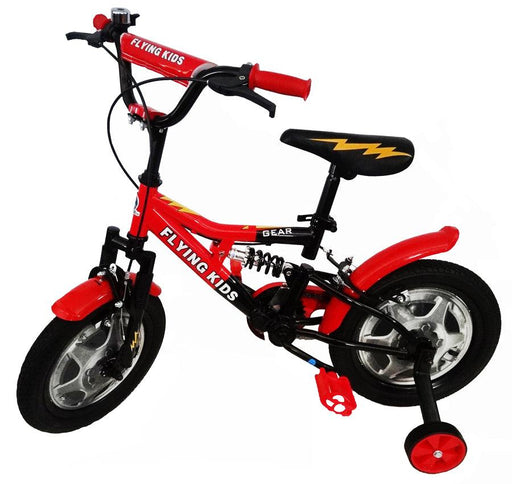 Super Max 14 inch Bike with suspension - Red - Aussie Baby