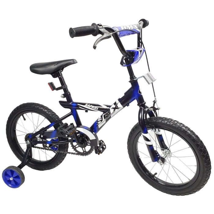 Safari 16 Inch Kids Push Bike with Training Wheels - Aussie Baby