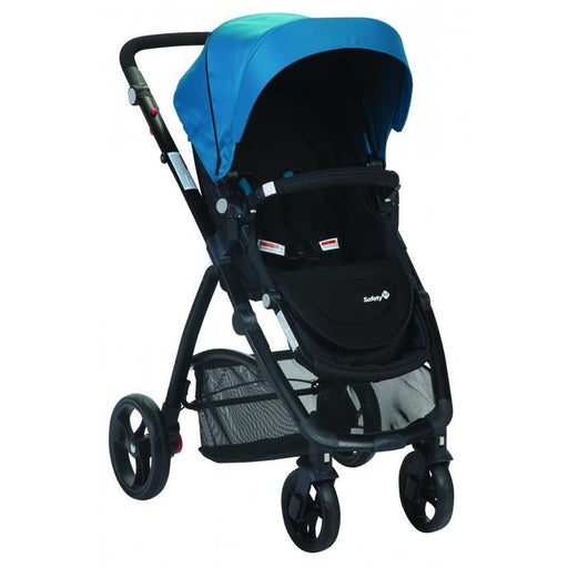 Safety 1st Visto 4 Wheel Stroller - Blue - Aussie Baby
