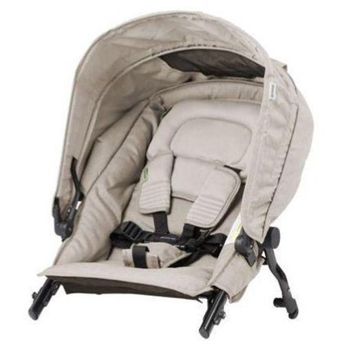 Steelcraft Strider Compact Deluxe Edition Second Seat - Natural Linen - Aussie Baby