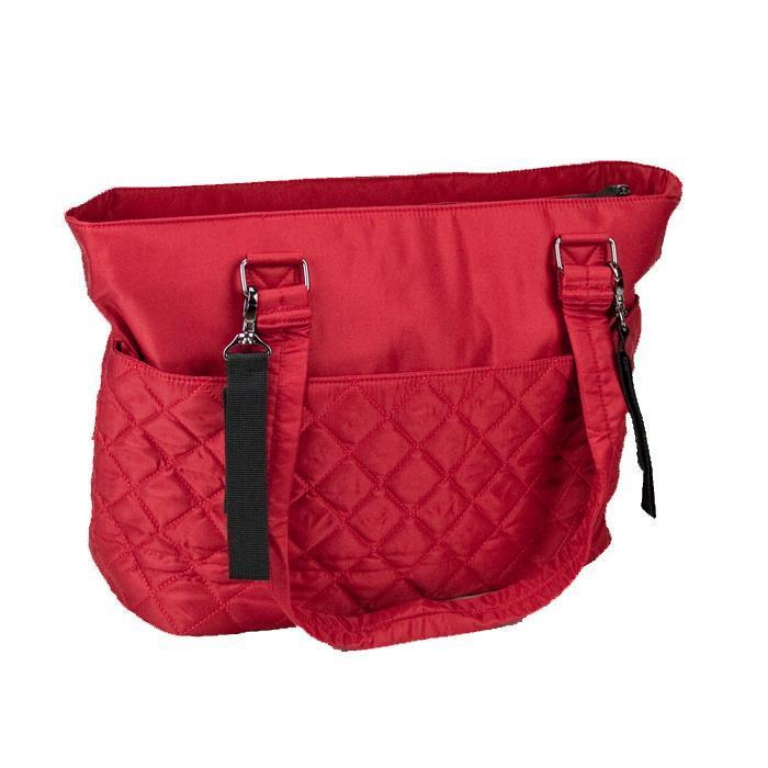 Bellotte Atelier Nappy Bag - Red Diamond - Aussie Baby