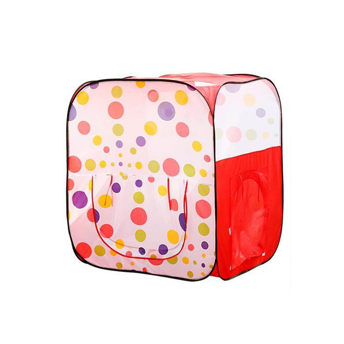 Kids Polka Dots Pop Up Play Tent Cubby House - Aussie Baby