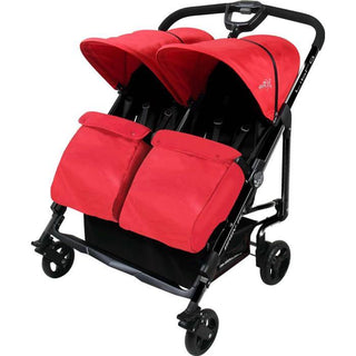 TB517 Libra Twin Stroller Red