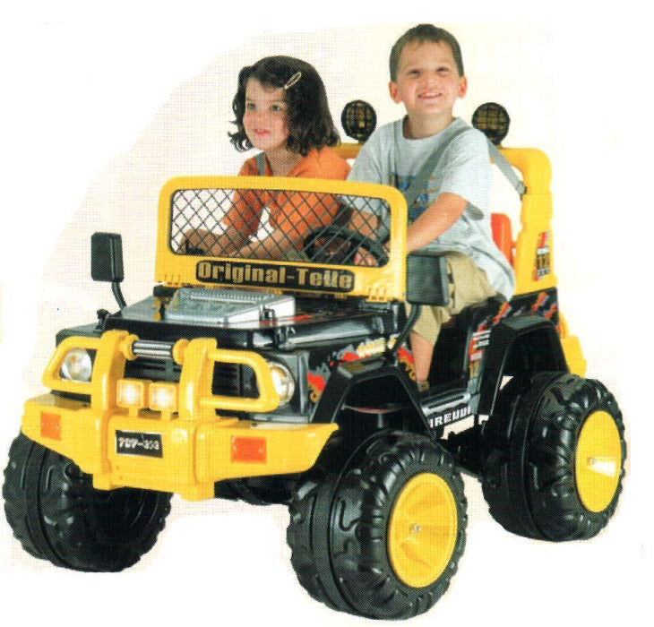 TCV353S Panther II 12V Battery Operated Car TCV
