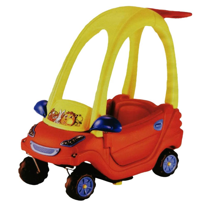 Aussie Baby Coupe Car - Red / Yellow - Aussie Baby