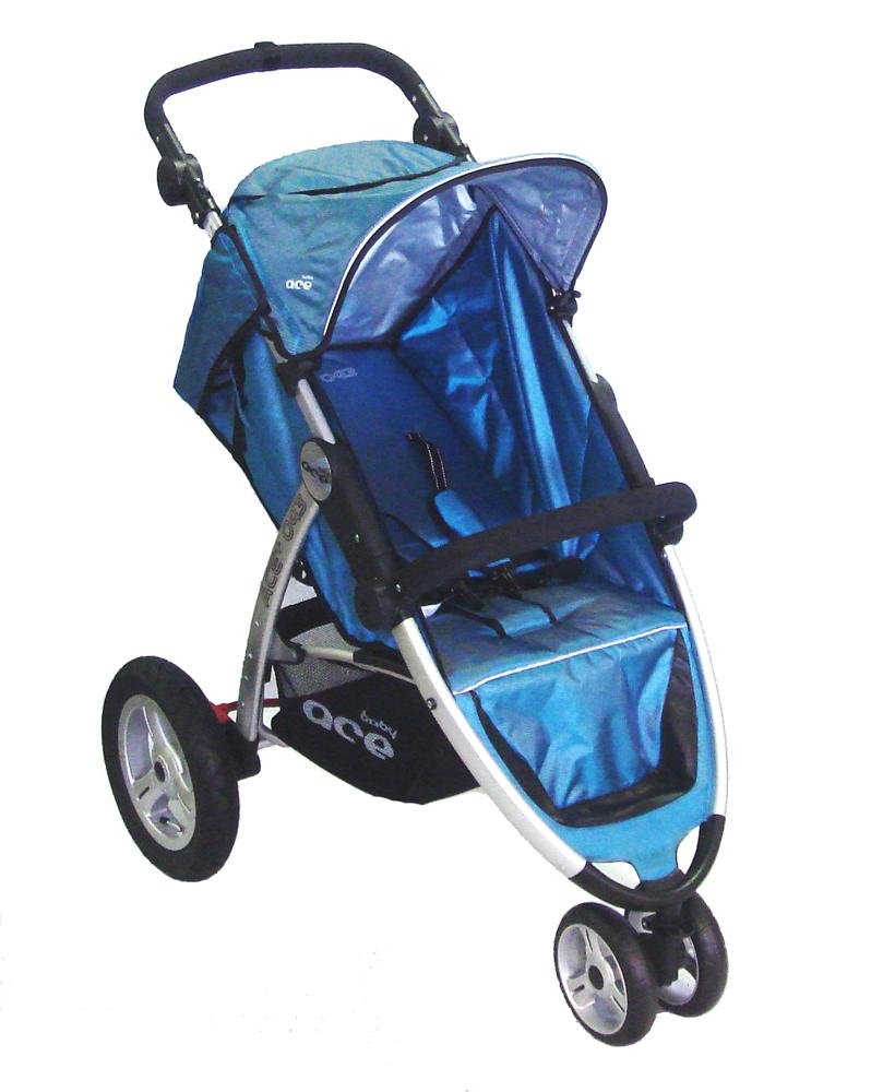 Baby Ace Jogger Stroller - Blue