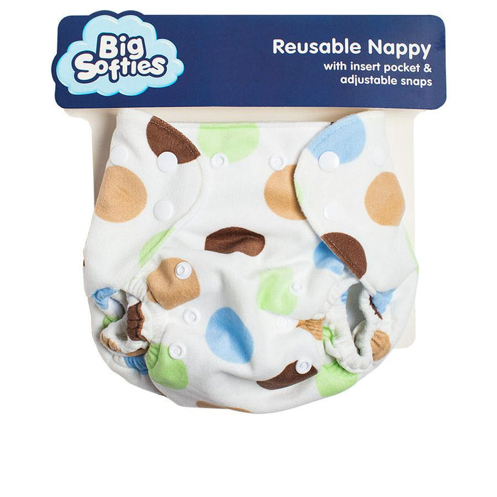 Big Softies Reusable Nappy Training Pant - Boy - Aussie Baby