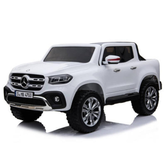 Mercedes-Benz X-Class Ute, 4x4 4WD Electric Ride On Toy - White