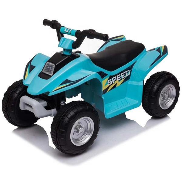 6V Kids Electric Ride On ATV Quad Bike 4 Wheeler Toy Car - Aqua