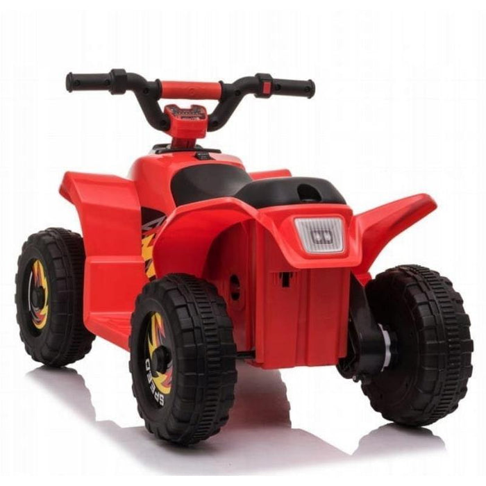 6V Kids Electric Ride On ATV Quad Bike 4 Wheeler Toy Car - Red