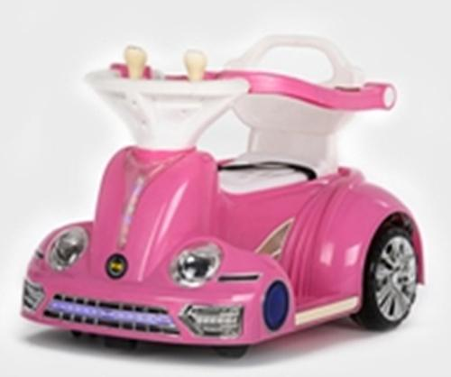 6V Wall-E Ride-On Car - Pink - Aussie Baby
