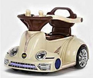 6V Wall-E Ride-On Car - Champagne White