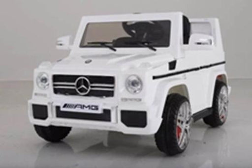 12V Mercedes Benz Jeep G65 - White - Aussie Baby