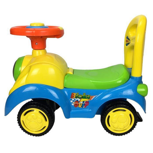 Elite Super Kids Ride-On Car - Blue - Aussie Baby