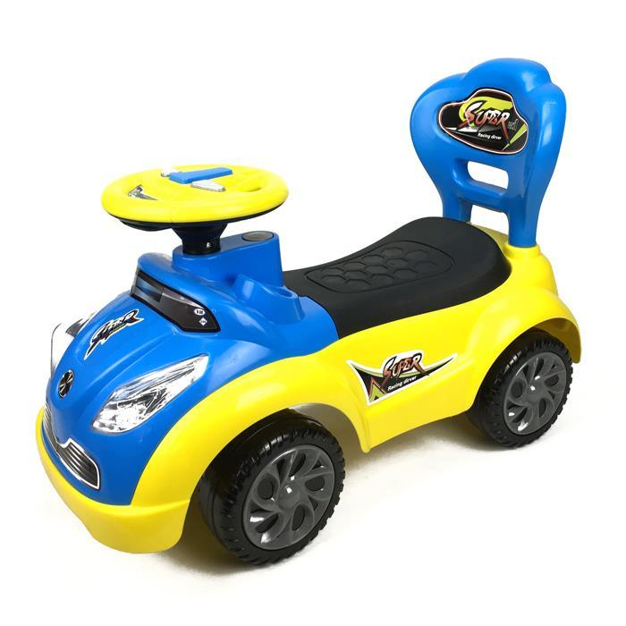 Kids Super Racing Ride On Toy Car - Blue - Aussie Baby