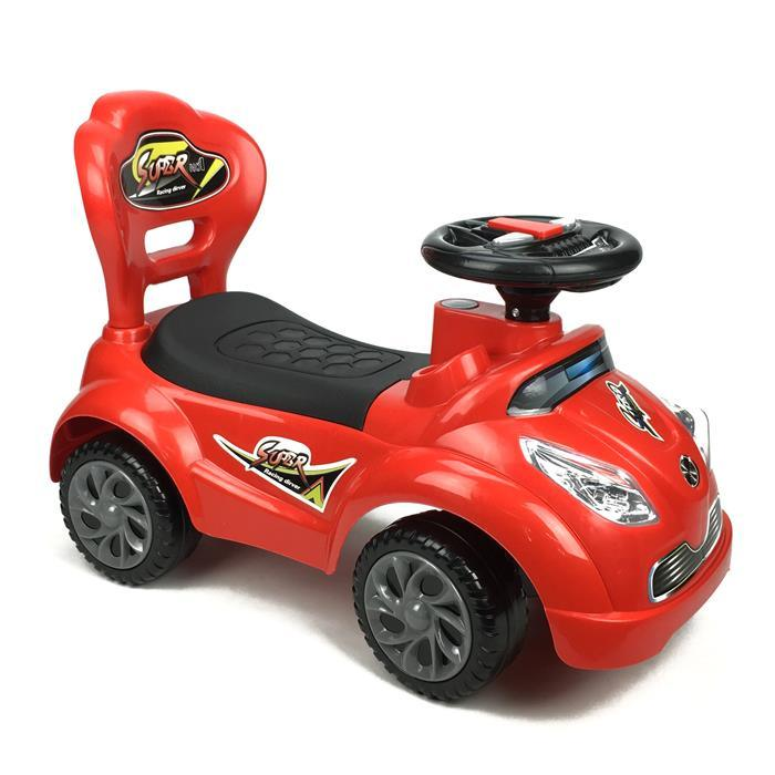 Kids Super Racing Ride On Toy Car - Red - Aussie Baby