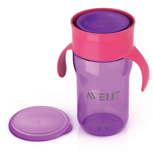 Philips Avent Grown Up Cup 340ml 18m+ (Purple) - Aussie Baby