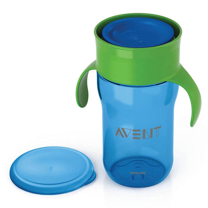 Philips Avent Grown Up Cup 340ml 18m+ (Blue) - Aussie Baby