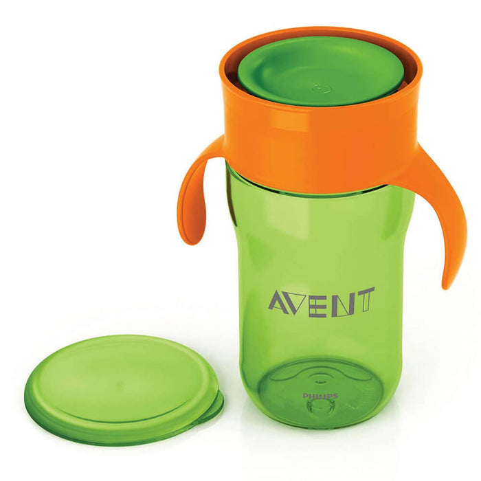 Philips Avent Grown Up Cup 340ml 18m+ (Green) - Aussie Baby