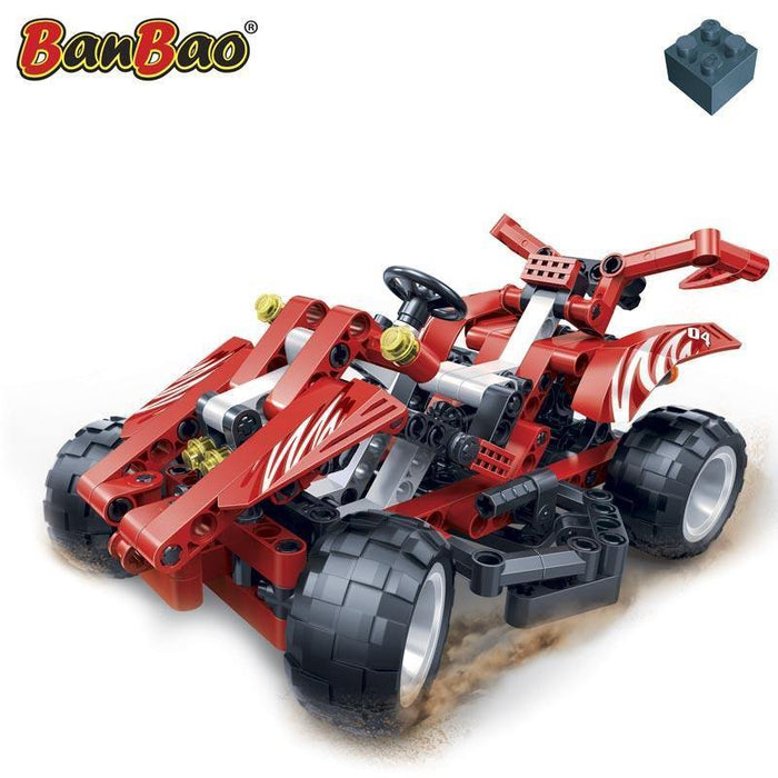 BanBao Hi-Tech - Red Falcon Racer 6955