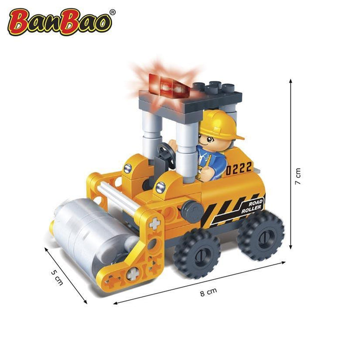 BanBao Mini Set Starter pack - Construction Compactor 8022