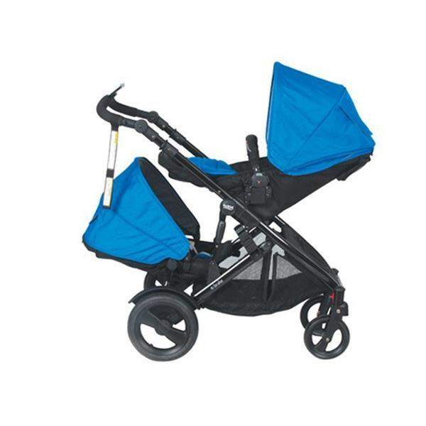 Package Deal - Britax E-Brake Stroller Cobalt Blue and Second Seat - Aussie Baby