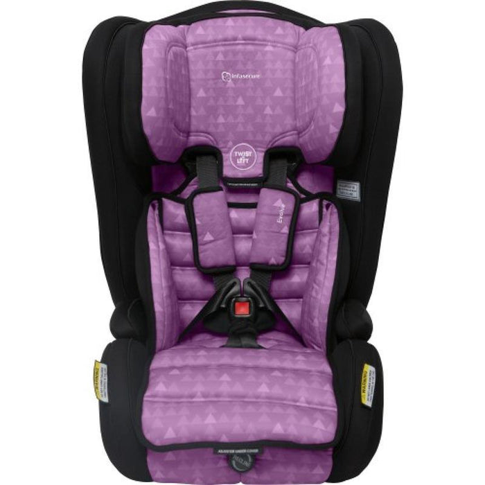 Infa Secure Evolve Treo Convertible Booster Seat - Purple - Aussie Baby