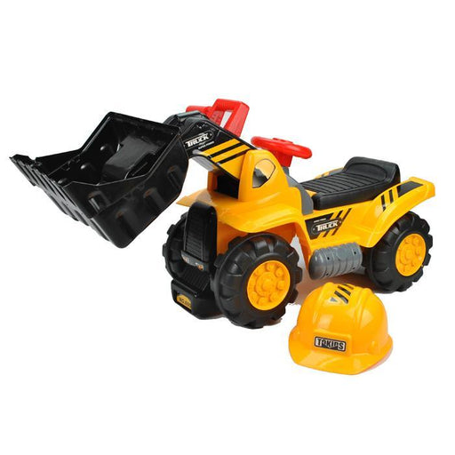 Kids Bulldozer Digger Ride-On Toy Truck - Aussie Baby