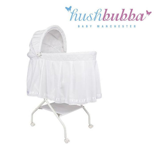Infa Secure Hush Bubba Felicity Bassinet - White - Aussie Baby