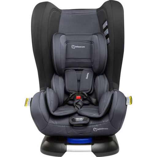 Infa Secure Quinta Quantum Isofix Convertible Car Seat - Charcoal - Aussie Baby