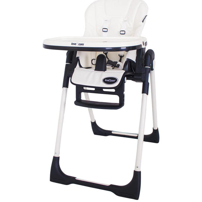 Love N Care Deluxe Montana High Chair - White
