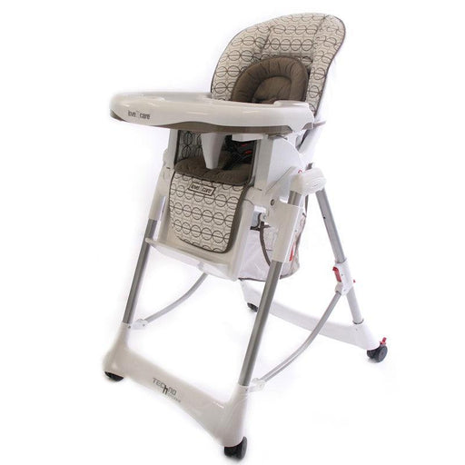 Love N Care Deluxe Techno High Chair - Brindle - Aussie Baby