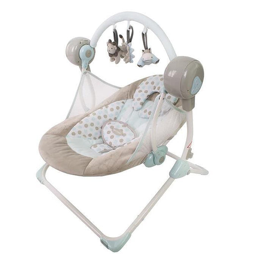 Love N Care Rock My Baby Swing - Earth - Aussie Baby