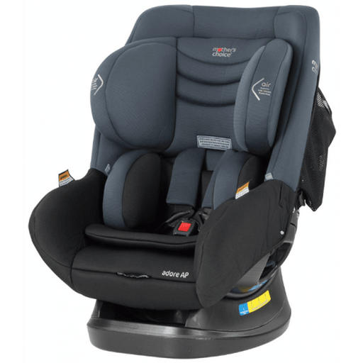 Mother's Choice Adore AP Titanium ISOFIX Convertible Car Seat - Grey - Aussie Baby