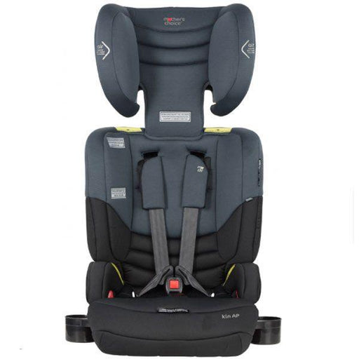 Mother's Choice Kin AP Convertible Booster Seat - Titanium Grey - Aussie Baby