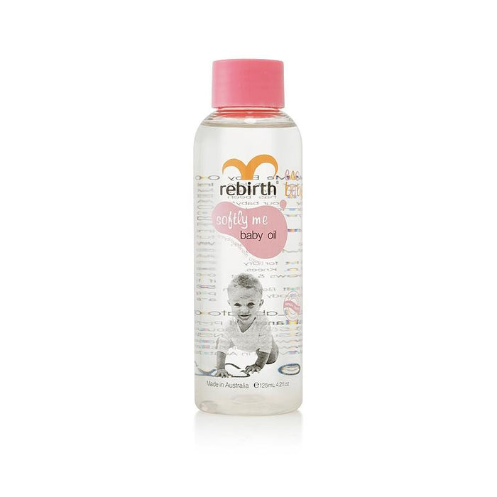 Rebirth Ecobaby Softly Me Baby Oil 125ml - Aussie Baby