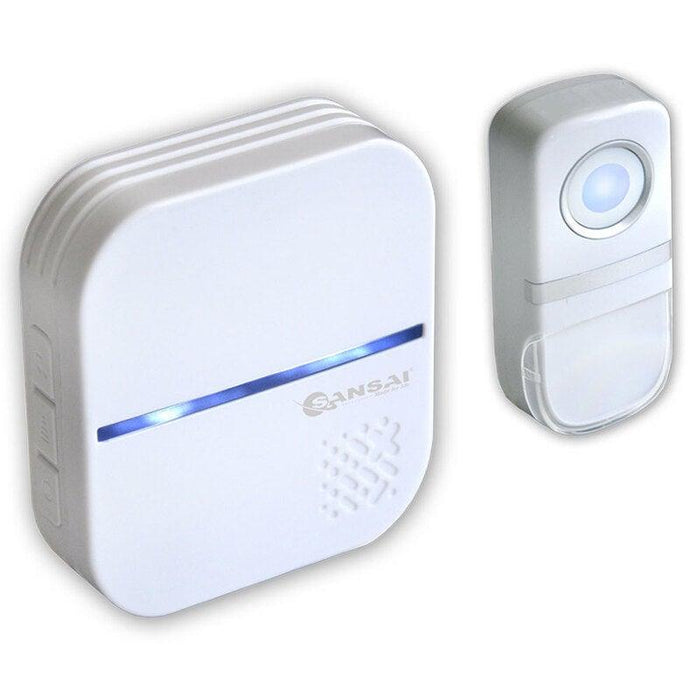 Sansai Plug In Wireless Door Chime/Bell/Ring 58 Tones/150m Range Waterproof