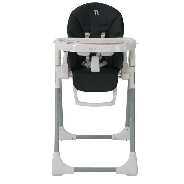 Steelcraft Matisse Hi Lo High Chair Black - Aussie Baby