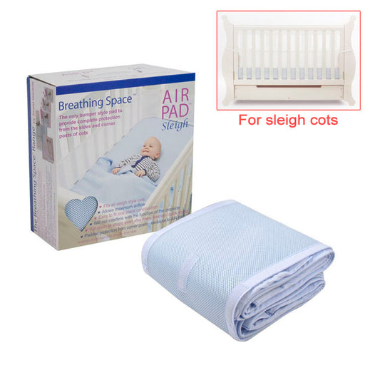 Sweet Dreams Air Pad - Sleigh Cot - Blue - Aussie Baby