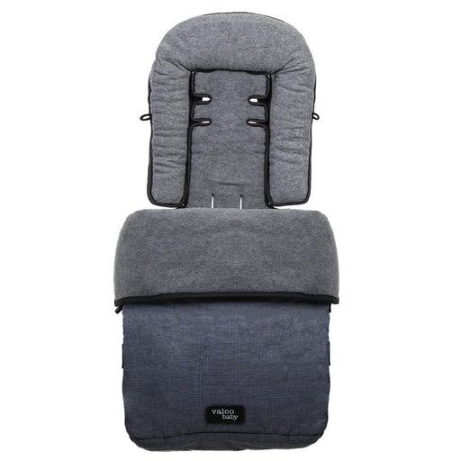 Valco Baby Snug Footmuff Tailor Made - Denim - Aussie Baby