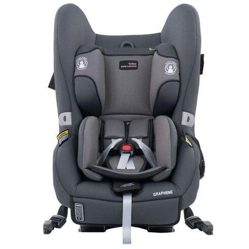 Britax Safe n Sound Graphene Convertible Car Seat - Pebble Grey - Aussie Baby