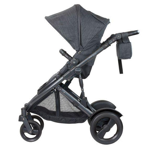 Steelcraft Strider Compact Deluxe Edition Textured Collection Stroller - Granite - Aussie Baby