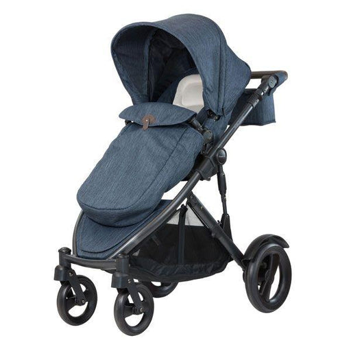 Steelcraft Strider Compact Deluxe Edition Textured Collection Stroller - Moonstone - Aussie Baby