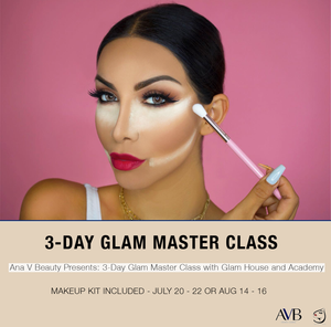 3-Day Master Glam Class with Glam House and Academy