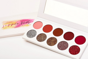 Master Glow Kit + Summer Heat Eyeshadow Palette Bundle