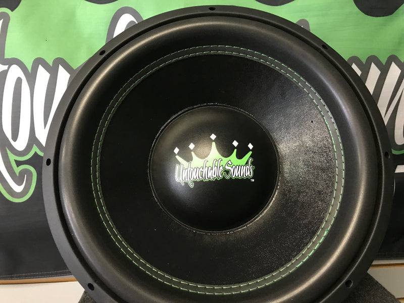 "Untouchable Sounds Prince Series 15"" 600W Subwoofer"