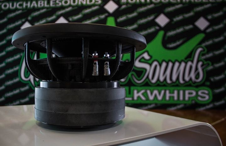 "Untouchable Sounds King Series 12"" 1250w Subwoofer"
